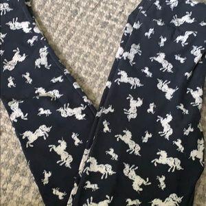 Unicorn tween leggings - Never Worn!